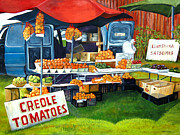 Roadside Market Print by Elaine Hodges