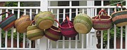 Wicker Baskets Prints - Roanoke Baskets Print by Cathy Lindsey