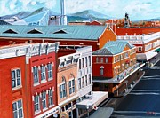 Roanoke City Market Print by Todd Bandy