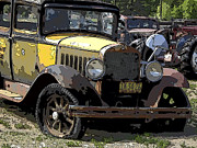 Wrecked Cars Photos - Roaring Twenties Studebaker by Daniel Hagerman