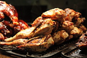 Barbecue Photos - Roast Chicken - 5D20686 by Wingsdomain Art and Photography