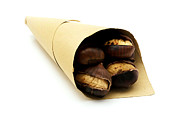 Paper Posters - Roasted chestnut Poster by Fabrizio Troiani