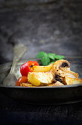Mythja Photos - Roasted vegetables by Mythja  Photography
