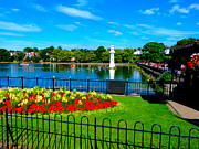 Outside Pictures Prints - Roath Park Print by Andrew Read