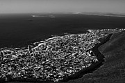 Republic Of South Africa Prints - Robben Island View - Cape Town Print by Aidan Moran