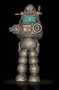 Robby The Robot Framed Prints - Robby the Robot Framed Print by Gary Warnimont