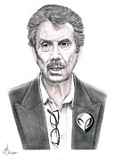 People Drawings Originals - Robert Bigelow by Murphy Elliott