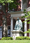 Bronce Metal Prints - Robert Brooke Taney Statue - Maryland State House  Metal Print by Christiane Schulze