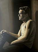 Fear Painting Prints - Robert de Niro Print by Paul Meijering