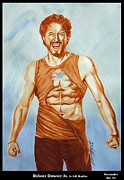 Iron Man Painting Originals - Robert Downey Jr. Happiness by Iracema Marianne Muller