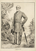 Robert E Lee Print by Digital Reproductions