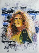 Robert Plant Painting Framed Prints - Robert Plant Framed Print by Vidya Vivek
