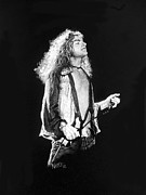 Robert Plant Prints - Robert Plant Print by William Walts