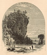 Nineteenth Century Digital Art - Robinsons Folly by Antique Engravings