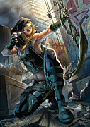 Robyn Hood 05a Print by Zenescope Entertainment