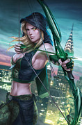 Tinker Bell Prints - Robyn Hood Wanted 01A Print by Zenescope Entertainment