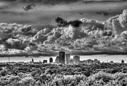 Rochester Skyline Framed Prints - Rochester NY Skyline GORGEOUS printed Framed Print by Tim Buisman