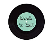 Musical Imagery Prints - Rock and Roll Print by Vizual Studio