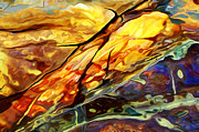 Rock Art Digital Art - Rock Art 24 Detail 2 by ABeautifulSky  Photography