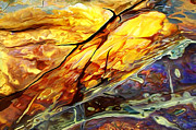 Photographic Art Art - Rock Art 24 Detail by ABeautifulSky  Photography