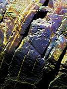 Manipulated Photo Posters - Rock Art 9 Poster by ABeautifulSky  Photography