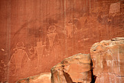 Utah National Parks Prints - Rock Art Print by Aidan Moran