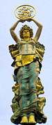 Greek Sculpture Prints - Rock Hill Goddess 4 Print by Randall Weidner