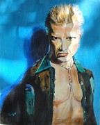 Billy Idol Art - Rock of Ages 2 by Judy Kay