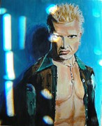 Billy Idol Art - Rock of Ages 3 by Judy Kay