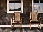 Rocking Chairs Metal Prints - Rock On Metal Print by Colleen Kammerer