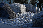 Stone Path Photos - Rock Path by Camille Lopez