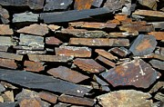 Bill Gabbert - Rock wall of slate