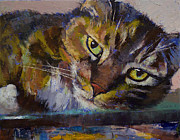 Gato Paintings - Rockefeller by Michael Creese