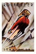 Movie Mixed Media - Rocketeer 1991 by Presented By American Classic Art