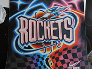 Rockets Originals - Rockets Vintage Logo by Eloy Samaniego