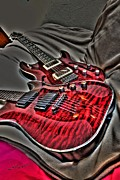 Pickin Digital Art Prints - Rockin Out Print by Steven Lebron Langston