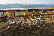 Rocking Chairs Photos - Rockin Pisgah by John Haldane