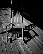 Rocking Chair Print by Carl Chick