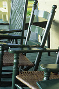 Rocking Chairs Photos - Rocking Chairs by Harold E McCray