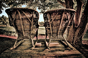 Rocking Chairs Photos - Rocking Chairs by Terry Garvin