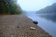 Rivers In The Fall Photos - Rocking the Mississippi by Paul Presnail