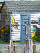 Rockport Metal Prints - Rockport Fishing Shack Rockport Massachusetts Metal Print by Michelle Wiarda