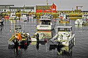 Rockport  Ma Framed Prints - Rockport Harbor II MA Framed Print by David Simpson