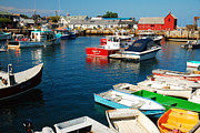 James Kirkikis Prints - Rockport Harbor Print by James Kirkikis