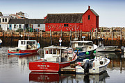 Rockport  Ma Framed Prints - Rockport Ma Framed Print by Christian Anderson