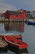 Rockport No. 1 Print by Mike Martin