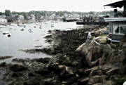 Rockport Metal Prints - Rockport Romance Metal Print by Richard Cummings