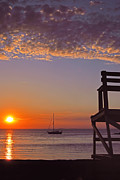 North Shore Posters - Rockport Sunset Poster by Joann Vitali