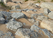 Blend Photos - Rocks and Sand by Susan Wyman