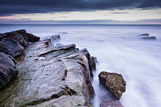 Keith Thorburn - Rocks at Gullane Beach